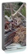 Storm Debris Portable Battery Charger