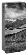 Storm In B And W Portable Battery Charger