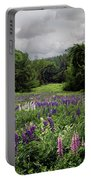 Storm In The Lupine Portable Battery Charger