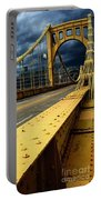 Storm Over Bridge Portable Battery Charger