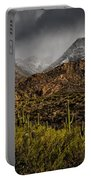 Storm Over Catalinas 15 Portable Battery Charger