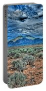 Storm Over Taos Mountain Portable Battery Charger