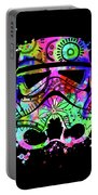 Stormtrooper Mask Rainbow 6 Portable Battery Charger