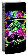 Stormtrooper Mask Rainbow 8 Portable Battery Charger
