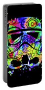 Stormtrooper Mask Rainbow 9 Portable Battery Charger