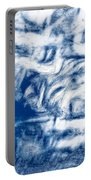 Stormy Abstract Portable Battery Charger