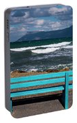 Stormy Aegean Sea Portable Battery Charger