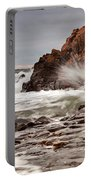 Stormy Beach Waves Portable Battery Charger