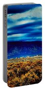 Stormy Day In Taos Portable Battery Charger