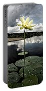 Stormy Lotus Portable Battery Charger