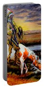 Stormy Prairie Portable Battery Charger