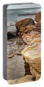 Stormy Rock Beach Portable Battery Charger