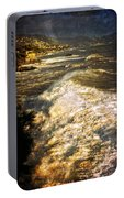 Stormy Sea Portable Battery Charger