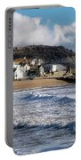 Stormy Seafront - Lyme Regis Portable Battery Charger