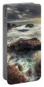 Stormy Seascape Portable Battery Charger