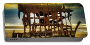 Stormy Shipwreck Portable Battery Charger