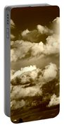 Stormy Skies In Socal Portable Battery Charger