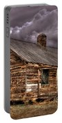Stormy Times Tenant House Greene County Georgia Art Portable Battery Charger