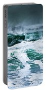 Stormy Waves Portable Battery Charger