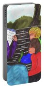 Story-time On Grand Mom's Porch Portable Battery Charger