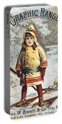 Stove Trade Card, C1890 Portable Battery Charger