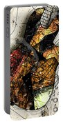 Strat Abstracta No. 4 Sunrise Portable Battery Charger