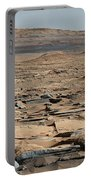 Stratified Rock On Mars Portable Battery Charger