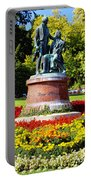 Strauss In Flowers Portable Battery Charger