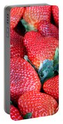 Strawberries 8 X 10 Portable Battery Charger