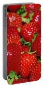 Strawberries Portable Battery Charger