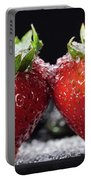 Strawberries Panorama Portable Battery Charger
