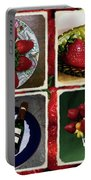 Strawberry Collage Portable Battery Charger