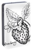 Strawberry Dreams Portable Battery Charger