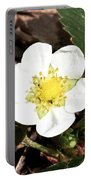 Strawberry Flower 1 Portable Battery Charger