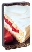 Strawberry Short Cake  Portable Battery Charger