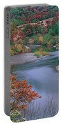 Stream And Fall Color In Central California Portable Battery Charger