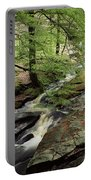 Stream In The Irish Countryside Portable Battery Charger