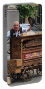 Street Entertainer In Bruges Belgium Portable Battery Charger
