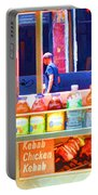 Street Food 3 Portable Battery Charger