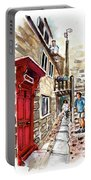 Street In Robin Hoods Bay 01 Portable Battery Charger