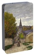 Street In Sainte Adresse Portable Battery Charger