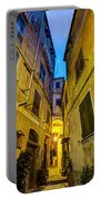 Street In Vernazza Portable Battery Charger