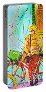 Street Of Amsterdam - Four Girls Portable Battery Charger