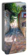 Street Of Artists Portable Battery Charger