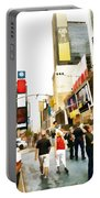 Street Of New York City Portable Battery Charger