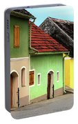 Street Of Wine Cellar Houses  Portable Battery Charger