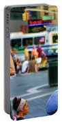 Street Photography Nyc Paint  Portable Battery Charger