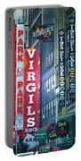 Street Signs Of New York Portable Battery Charger