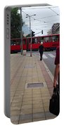 Streets Of Belgrade Portable Battery Charger