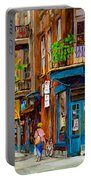 Streets Of Montreal Over 500 Prints Available By Montreal Cityscene Specialist Carole Spandau Portable Battery Charger